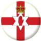 Northern Ireland Country Flag 58mm Button Badge